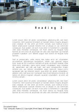 Clean Office Word Template Second Inner Page