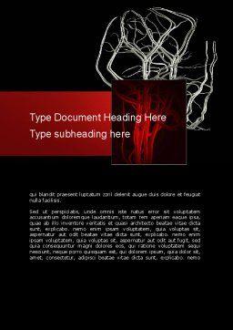 Temporomandibular Joint Word Template, Cover Page, 11070, Medical — PoweredTemplate.com