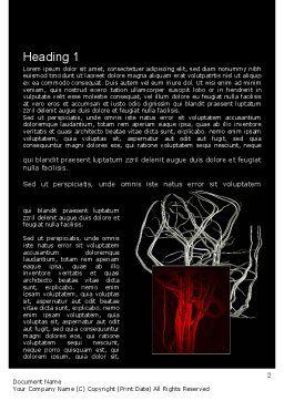 Temporomandibular Joint Word Template, First Inner Page, 11070, Medical — PoweredTemplate.com