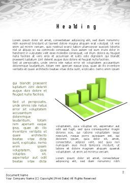 Statistics Word Template First Inner Page