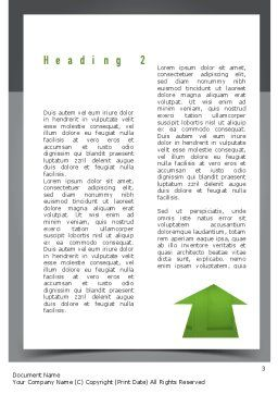 Choosing The Right Way Word Template Second Inner Page
