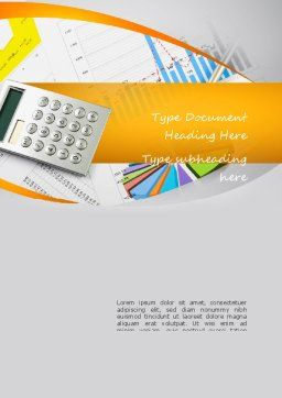 Business Analysis Word Template, Cover Page, 11115, Consulting — PoweredTemplate.com