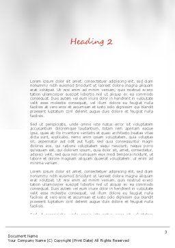 Pillar Word Template, Second Inner Page, 11116, Construction — PoweredTemplate.com