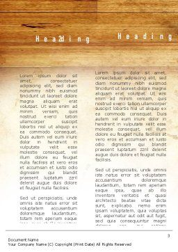 Creative Idea Word Template, Second Inner Page, 11142, Business Concepts — PoweredTemplate.com