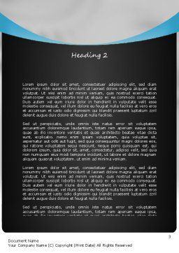 Congratulations Word Template, Second Inner Page, 11172, People — PoweredTemplate.com