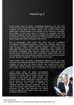 Business Insurance Word Template, Second Inner Page, 11176, Careers/Industry — PoweredTemplate.com