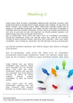 Going Global Word Template, First Inner Page, 11180, Business Concepts — PoweredTemplate.com