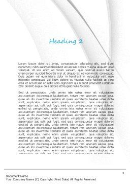 Going Global Word Template, Second Inner Page, 11180, Business Concepts — PoweredTemplate.com