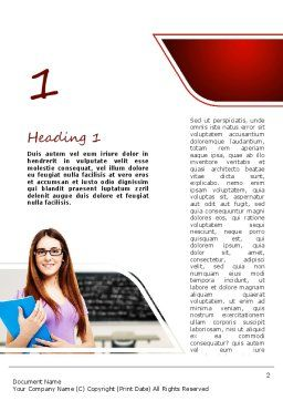 Exam Word Template First Inner Page