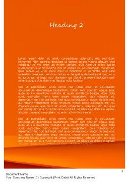 ATV Racing Word Template, Second Inner Page, 11210, Sports — PoweredTemplate.com