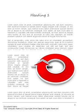 Turnkey Solution Word Template, First Inner Page, 11228, Careers/Industry — PoweredTemplate.com