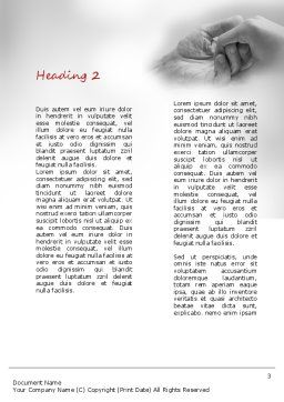 Elderly Care Word Template, Second Inner Page, 11230, Religious/Spiritual — PoweredTemplate.com