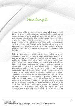 Application Programming Word Template, Second Inner Page, 11231, Careers/Industry — PoweredTemplate.com