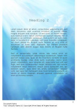 Come Alive Word Template, Second Inner Page, 11233, Religious/Spiritual — PoweredTemplate.com