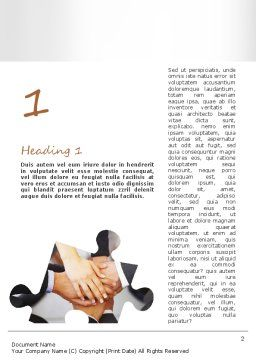 Corporate Compliance Word Template First Inner Page