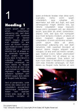 DJ Equipment Word Template First Inner Page