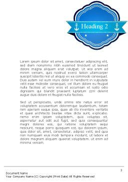 Shipping Company Word Template, Second Inner Page, 11280, Cars/Transportation — PoweredTemplate.com