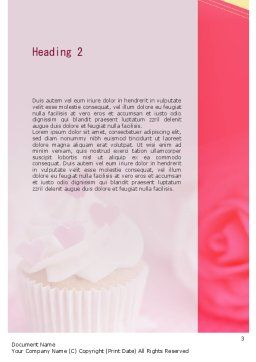 Happy Sweetest Day Word Template, Second Inner Page, 11317, Holiday/Special Occasion — PoweredTemplate.com