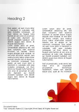 Social Leadership Word Template Second Inner Page