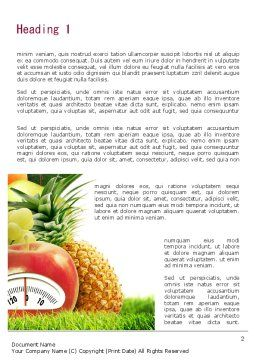 Diet Food Word Template, First Inner Page, 11380, Food & Beverage — PoweredTemplate.com
