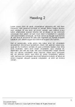 Gear Lever Word Template Second Inner Page