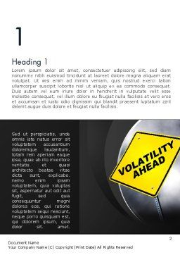 Volatility Word Template First Inner Page