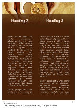 Nature Simplicity Word Template, Second Inner Page, 11397, Construction — PoweredTemplate.com