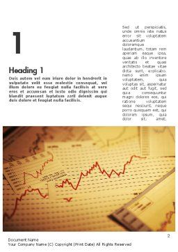 Stock Broker Services Word Template, First Inner Page, 11399, Consulting — PoweredTemplate.com