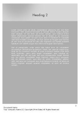 Women's Prayer Word Template Second Inner Page