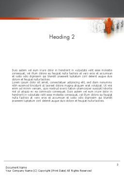 Talent Management Word Template, Second Inner Page, 11408, Education & Training — PoweredTemplate.com