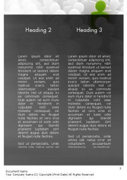 Nobody Does It Better Word Template, Second Inner Page, 11417, Business Concepts — PoweredTemplate.com