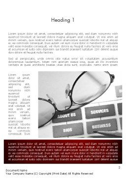 Website Planning Word Template, First Inner Page, 11442, Technology, Science & Computers — PoweredTemplate.com