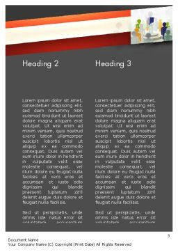 Business Courses Word Template Second Inner Page