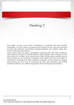 Curiosity Questions Word Template, Second Inner Page, 11517, Business Concepts — PoweredTemplate.com