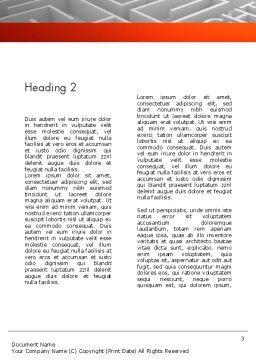 Intellectual Property Maze Word Template 11532 | PoweredTemplate.com