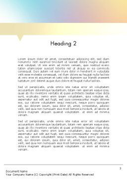 Two Options Word Template, Second Inner Page, 11591, Business Concepts — PoweredTemplate.com