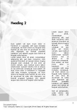 Training and Development Words Word Template, Second Inner Page, 11609, Education & Training — PoweredTemplate.com