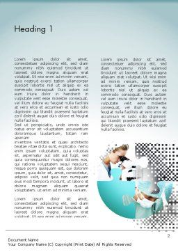 Surgical Technology Word Template, First Inner Page, 11613, Medical — PoweredTemplate.com