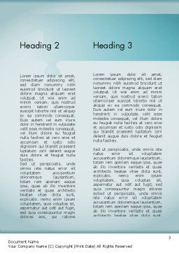 Surgical Technology Word Template, Second Inner Page, 11613, Medical — PoweredTemplate.com