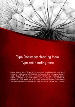 WEB Concept Word Template, Cover Page, 11614, Nature & Environment — PoweredTemplate.com