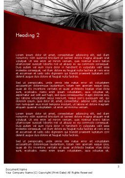 WEB Concept Word Template, Second Inner Page, 11614, Nature & Environment — PoweredTemplate.com
