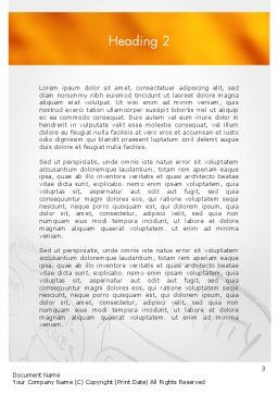 Customer Acquisition Word Template, Second Inner Page, 11649, Business Concepts — PoweredTemplate.com