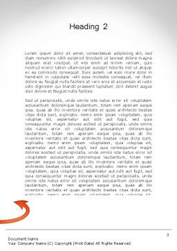 Grocery Shopping Word Template, Second Inner Page, 11673, Careers/Industry — PoweredTemplate.com