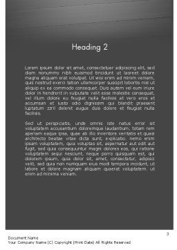 Distracted Driving Word Template, Second Inner Page, 11674, Cars/Transportation — PoweredTemplate.com