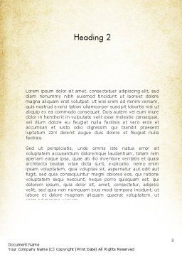 Teach and Learn Word Template Second Inner Page
