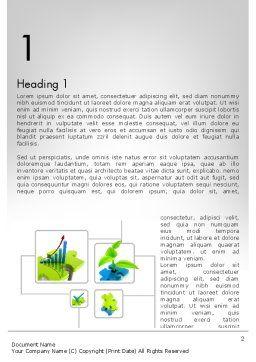 Startup Development Word Template, First Inner Page, 11682, Business Concepts — PoweredTemplate.com