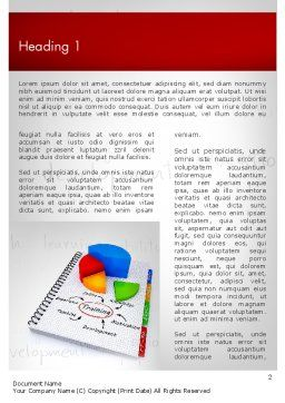 Training Plan with Pie Chart Word Template First Inner Page