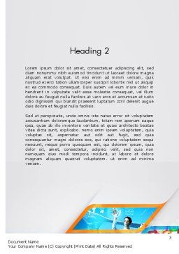 Mobile Apps Theme Word Template, Second Inner Page, 11707, Technology, Science & Computers — PoweredTemplate.com