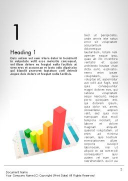 Designing Data Visualization Word Template, First Inner Page, 11711, Business Concepts — PoweredTemplate.com