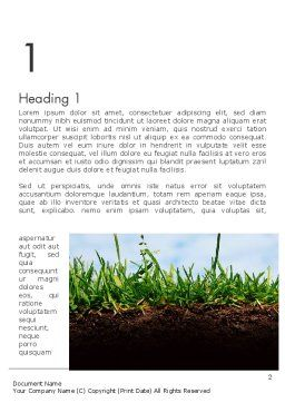 Soil Acidity Word Template First Inner Page